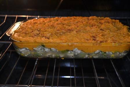 Sweet Potato Sheppard Pie