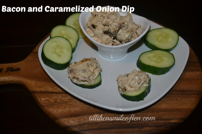 Bacon and Caramelized Onion Dip
