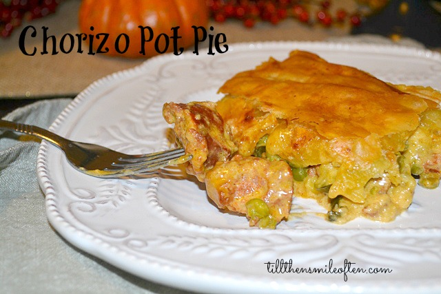 Chorizo Pot Pie
