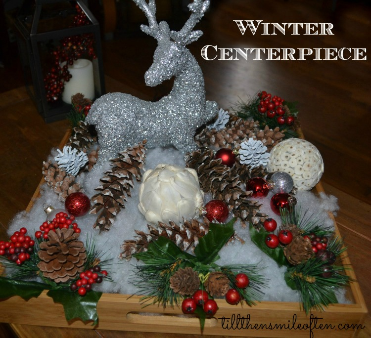 DIY - Winter Centerpiece