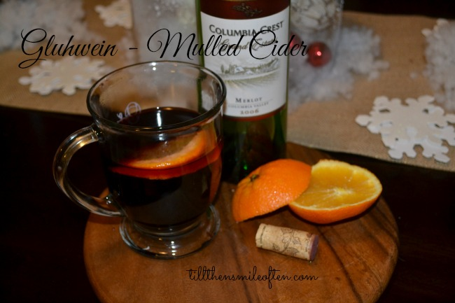 Gluhwein - Mulled Wine - Perfect Holiday cocktail