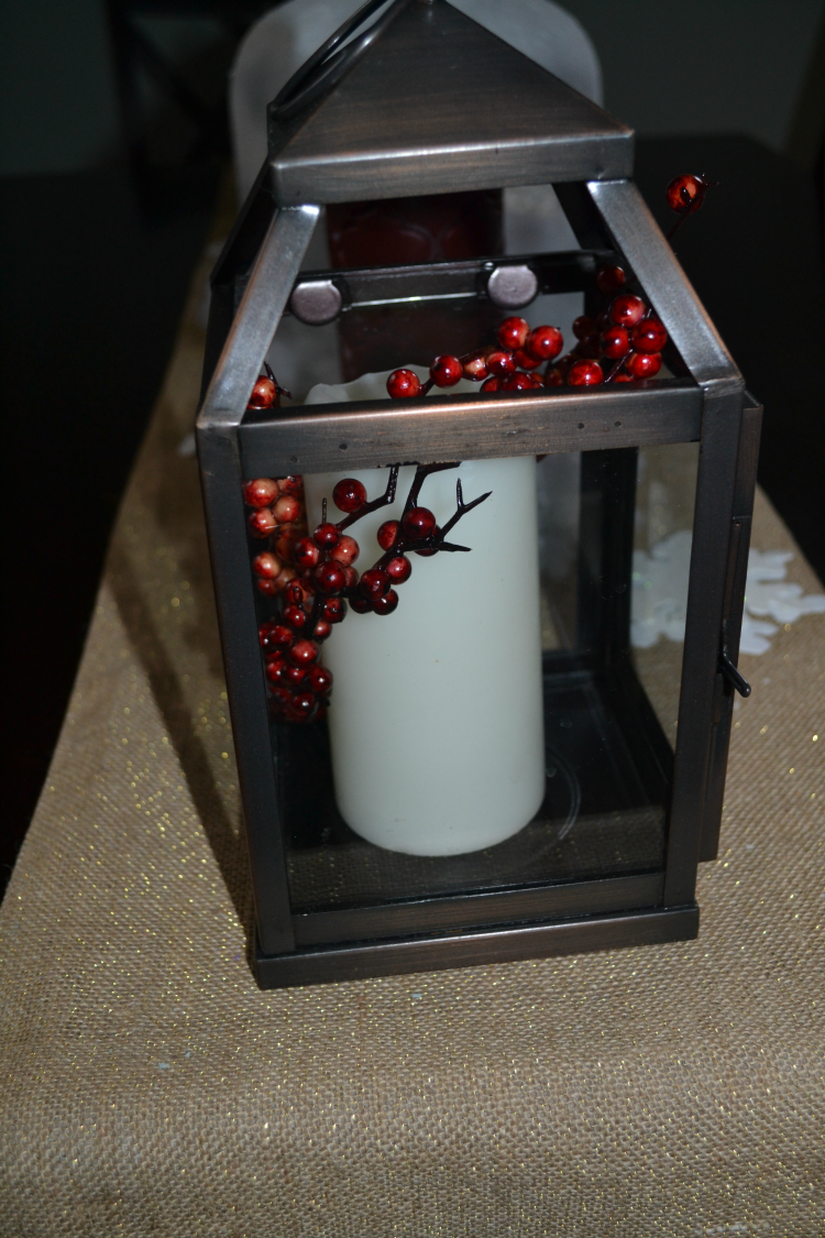 Winter Wonderland tablescape decoration