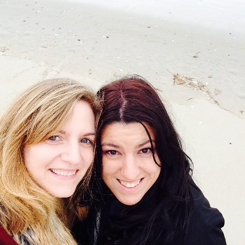 Ogunquit Beach - Best Friends and sisters