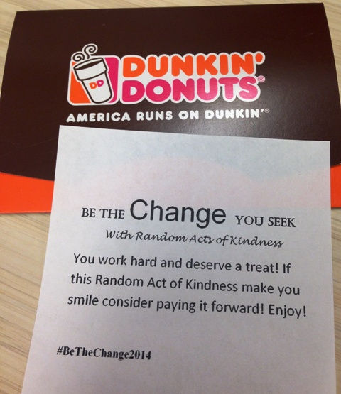 Be The Change - Random Acts of Kindness