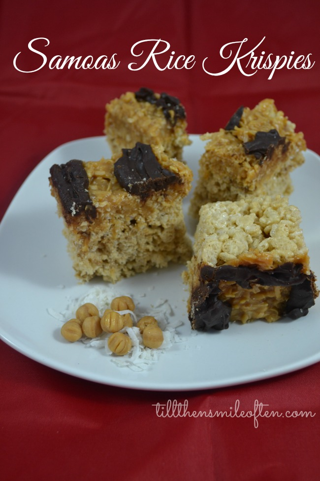 Samoas Rice Krispies
